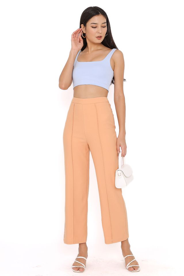 PACEY PANELLED PANTS (SHERBET ORANGE) (L & XL)