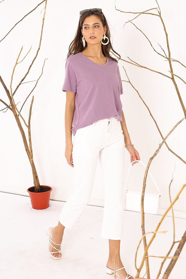 BEN BASIC T-SHIRT (PURPLE)