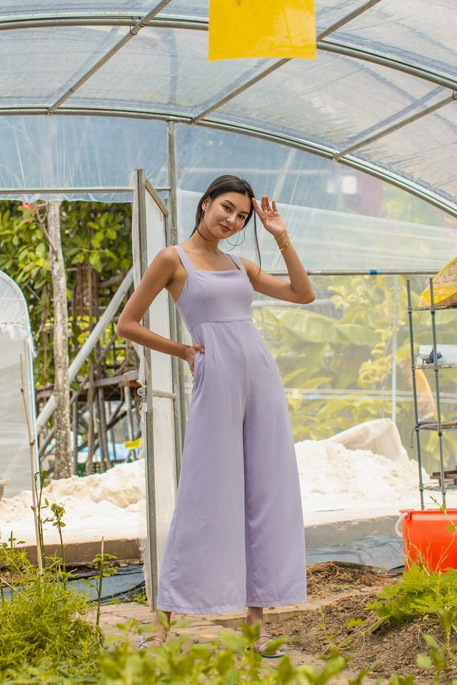 MELODY WIDE LEG JUMPSUIT (LILAC)