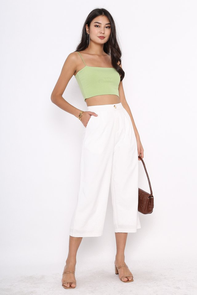 LAURA LINEN PANTS (WHITE)