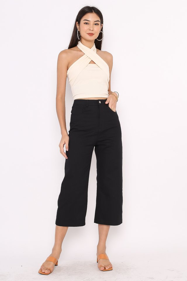 CODY CROPPED JEANS (BLACK)