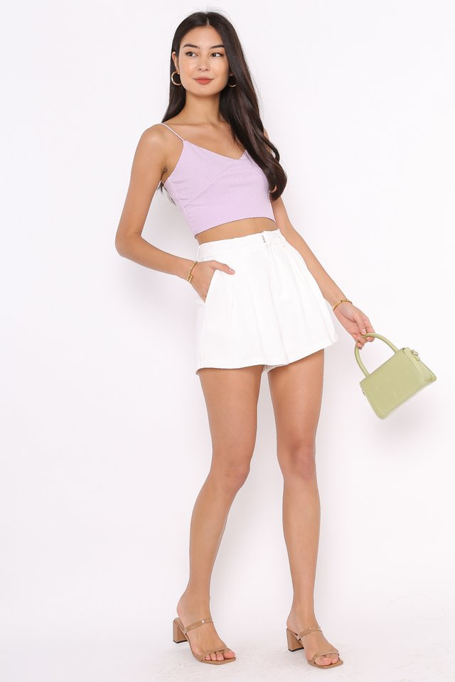 KRISTIN KNITTED TOP  (LILAC)